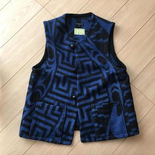 エンジニアードガーメンツ(Engineered Garments)のengineered garments salmon people 青ベスト(ベスト)