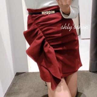 Delyle NOIR - デイライル 新作 フリルスカート