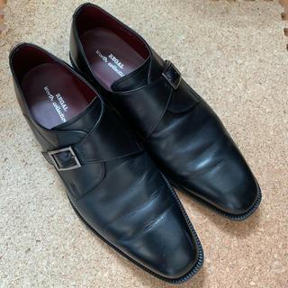 リーガル(REGAL)のリーガル REGAL 革靴 皮 メンズ 28EEE 日本製 2-3回使用(ドレス/ビジネス)
