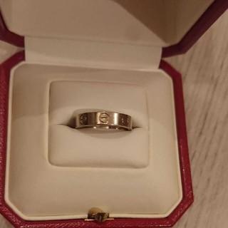 カルティエ(Cartier)のカルティエ ラブリング ホワイトゴールド(リング(指輪))