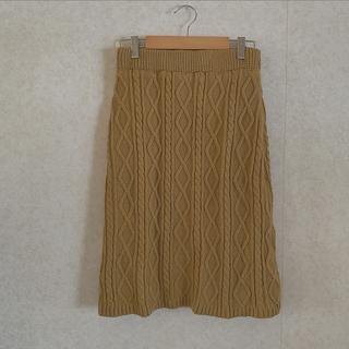 ロキエ(Lochie)のknit skirt(ひざ丈スカート)