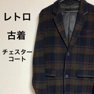 RAGEBLUE - 【レトロ チェックチェスターコート】