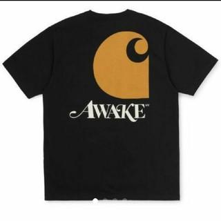 アウェイク(AWAKE)のcarhartt awake Tee 黒 M 新品未使用(Tシャツ/カットソー(半袖/袖なし))