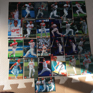 ヒロシマトウヨウカープ(広島東洋カープ)の広島カープ カード 25枚(スポーツ選手)