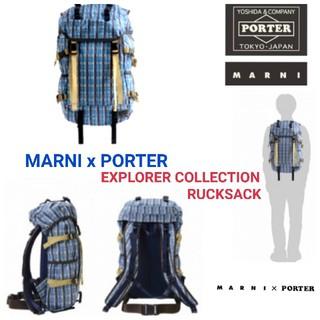 マルニ(Marni)のMARNI x PORTER マルニ x ポーター☆バックパック リュック(バッグパック/リュック)