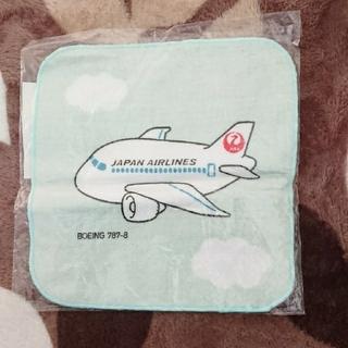 ジャル(ニホンコウクウ)(JAL(日本航空))のハンドタオル(ハンカチ)