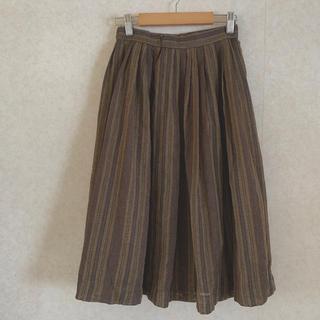 サンタモニカ(Santa Monica)のvintage skirt stripe(ロングスカート)
