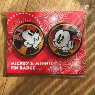 ディズニー(Disney)のミッキー、ミニーピンバッジ(バッジ/ピンバッジ)
