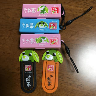 お茶犬 ペーパークリップ ふせん(ノート/メモ帳/ふせん)