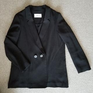 FRAY I.D - フレイアイディ テーラードダブルジャケット 黒フリーサイズ