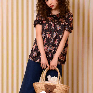 ケイティー(Katie)のBEAR FAB puff blouse(シャツ/ブラウス(半袖/袖なし))