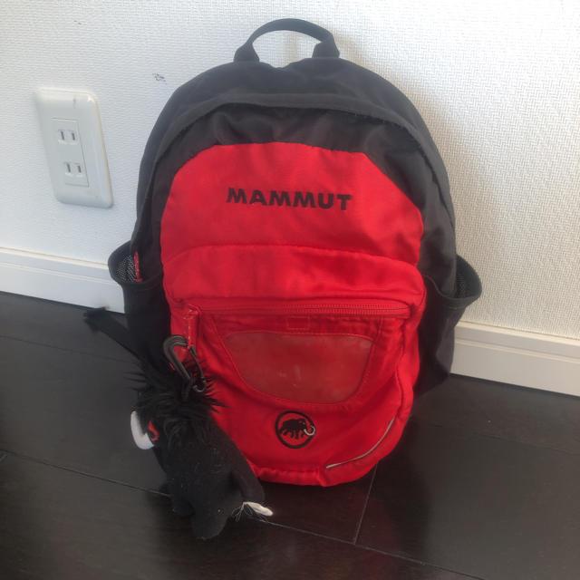 Mammut(マムート)の即決 MAMMUT マムート キッズ リュック キッズ/ベビー/マタニティのこども用バッグ(リュックサック)の商品写真