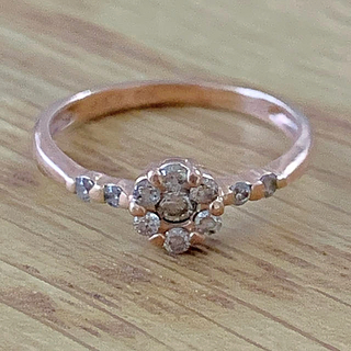 K10 ダイヤモンド0.20ct リング (リング(指輪))