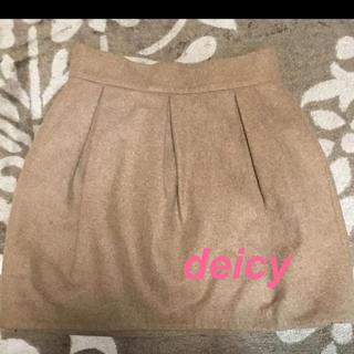 デイシー(deicy)のdeicy ウールスカート(ミニスカート)