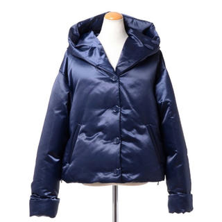 MM6 - MM6 マルタンマルジェラ フーデッドパデッドジャケット/コート 紺38