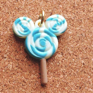 ディズニー(Disney)のミッキー キャンディー  ディズニー チャーム ハンドメイド パーツ #2(チャーム)