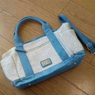 フェリシモ(FELISSIMO)のリブインコンフォート フェリシモ バッグ トートバッグ 編み かご かわいい(トートバッグ)