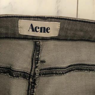 アクネ(ACNE)のacne デニム グレー 25/32 アクネ (デニム/ジーンズ)