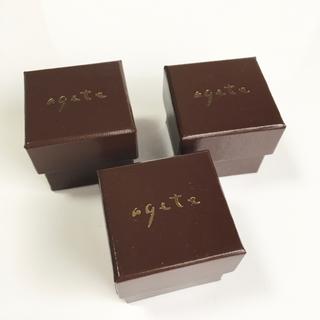 agete - agete 箱 3個セット