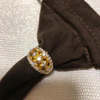 サファイア1.820カラット+ダイヤモンド0.930カラットリング(リング(指輪))