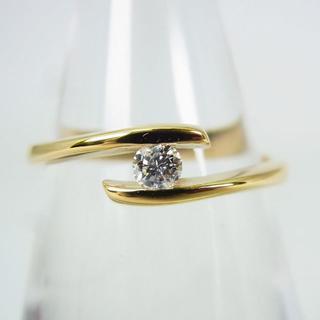 K18 ダイヤモンド リング 11号 [g151-3] (リング(指輪))
