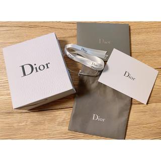 Dior - Dior プレゼント ボックス レター 巾着 リボン 空箱