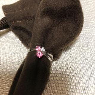 k14ピンクトルマリン+ダイヤモンドリング(リング(指輪))