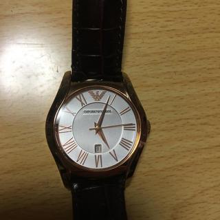 エンポリオアルマーニ(Emporio Armani)のEMPORIO ARMANI レディース腕時計(腕時計)