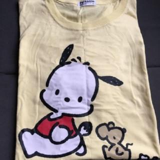サンリオ(サンリオ)のポチャッコ 半袖 Tシャツ プリント 黄色 イエロー(Tシャツ(半袖/袖なし))
