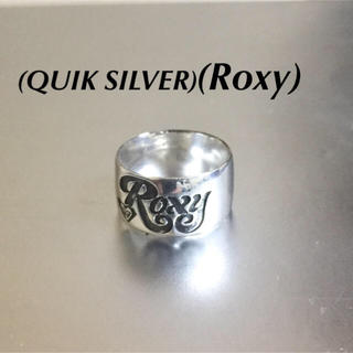 ロキシー(Roxy)のクイックシルバー/ロキシー925シルバーロゴリング(リング(指輪))