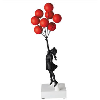 メディコムトイ(MEDICOM TOY)の【新品未開封】Sync. Flying Balloons Girl(彫刻/オブジェ)