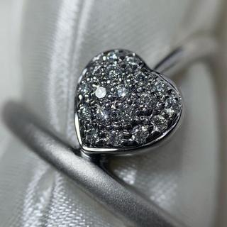 カラッチ k18wg ダイヤモンド ハートリング(リング(指輪))