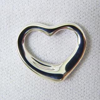 ティファニー(Tiffany & Co.)のティファニー 925 オープンハート ペンダントトップ [g152-5](ネックレス)