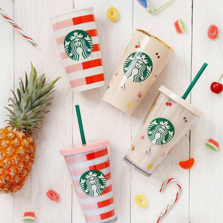 スターバックスコーヒー(Starbucks Coffee)の台湾スターバックス  バンドゥー さくらんぼ bando ストロータンブラー (キャラクターグッズ)