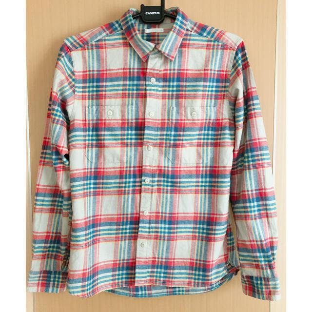 GU(ジーユー)の♡GU チェックシャツ★美品‼️ メンズのトップス(シャツ)の商品写真