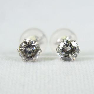 Pt900 ダイヤモンド ピアス 0.20ct,0.20ct[g152-8](ピアス)