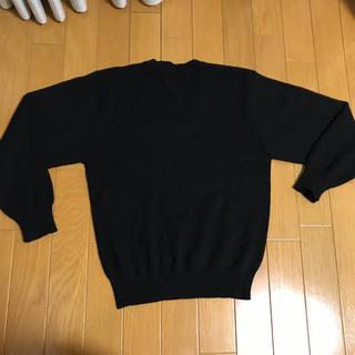 紺色冠婚葬祭に活用セーター、男女兼用(ニット)