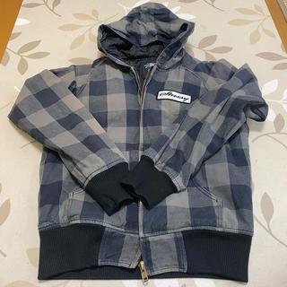 STUSSY - Stussyチェック柄 フード付きジャケット