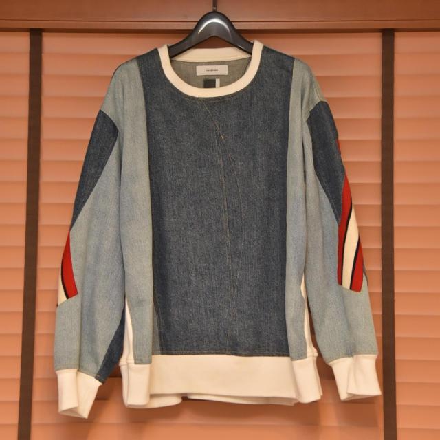 FACETASM(ファセッタズム)のファセッタズム FACETASM デニム スウェット メンズのトップス(スウェット)の商品写真
