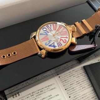 ガガミラノ(GaGa MILANO)の2/10までの出品 ガガミラノ gagaMilano 腕時計 直営店購入(腕時計)