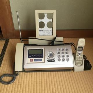 シャープ(SHARP)のシャープ ファックス付 電話機 子機1台(その他)