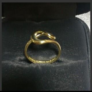 ティファニー(Tiffany & Co.)のティファニー K18 オープンウェーブリング(リング(指輪))