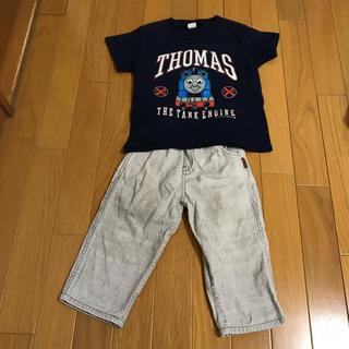 ドッグデプト(DOG DEPT)のドッグデプトパンツ90と、ハワイ購入トーマスTシャツ(Tシャツ/カットソー)