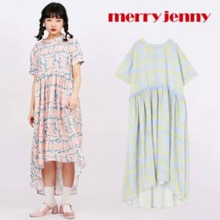 メリージェニー(merry jenny)の再値下げ 新品未使用 メリージェニー ワンピース(ひざ丈ワンピース)
