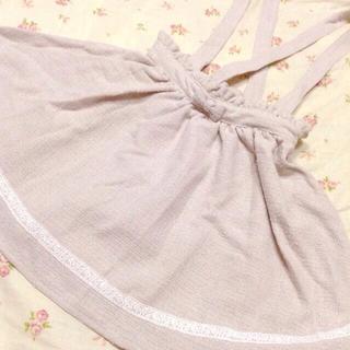 リズリサ(LIZ LISA)のツイードサスペ付きスカート(ミニスカート)