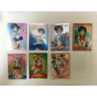 セーラームーン(セーラームーン)のセーラーマーキュリー セーラーヴィーナス カード 7枚(カード)