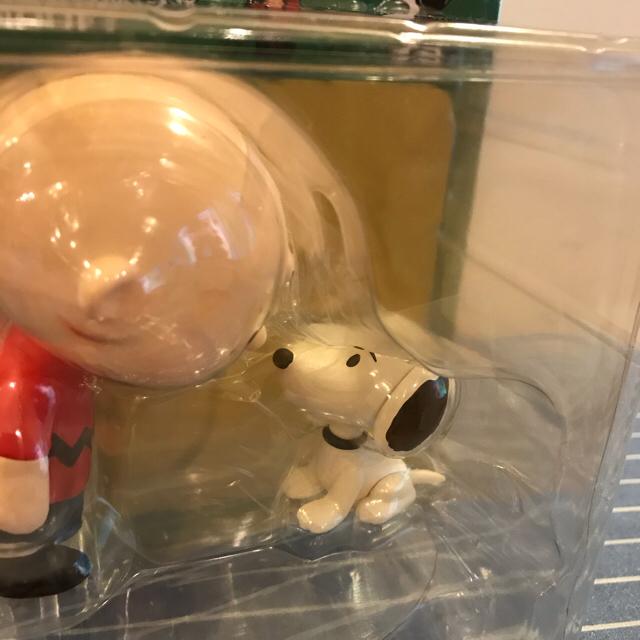 PEANUTS(ピーナッツ)のピーナッツ チャーリーブラウン&スヌーピー フィギュア エンタメ/ホビーのおもちゃ/ぬいぐるみ(キャラクターグッズ)の商品写真