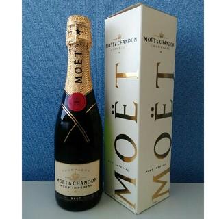 モエエシャンドン(MOËT & CHANDON)のMOET&CHANDON  375ml 未開封 箱付き(シャンパン/スパークリングワイン)