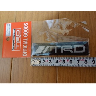 トヨタ - TRD カーボンステッカー