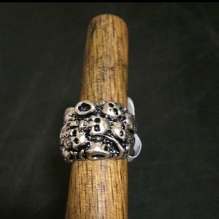 新品 メンズ リング 指輪 アクセ スカル 骸骨(リング(指輪))